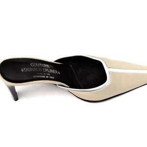 Donald J. Pliner Shoes - Donald J Pliner Couture Beige Grey Heels Shoes